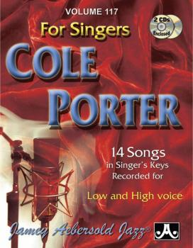 Jamey Aebersold Jazz, Volume 117: Cole Porter for Singers: 14 Songs in (AL-24-V117DS)
