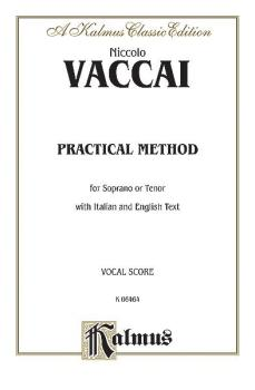 Practical Vocal Method for Soprano or Tenor (High Voice): Vocal Score  (AL-00-K06464)