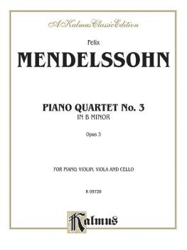 Piano Quartets No. 3 in B Minor, Opus 3 (AL-00-K09720)