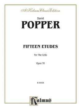 Fifteen Etudes for Cello, Opus 76 (AL-00-K04426)