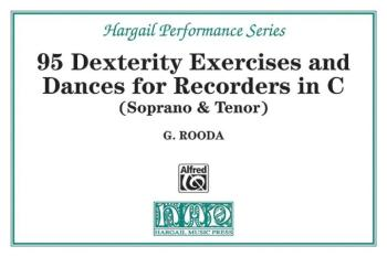 Finger Dexterity Exercises and Pieces for C Recorders (AL-00-HRW3)