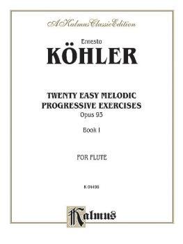 Twenty Easy Melodic Progressive Exercises, Opus 93, Book I (AL-00-K04496)