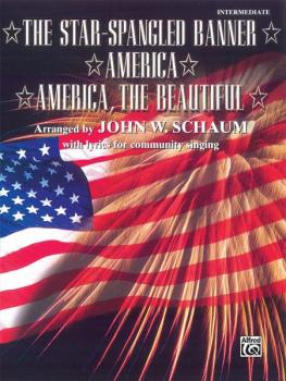 The Star-Spangled Banner / America / America, the Beautiful (AL-00-PA01017)