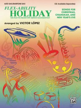 Flex-Ability: Holiday: Solo-Duet-Trio-Quartet with Optional Accompanim (AL-00-0693B)