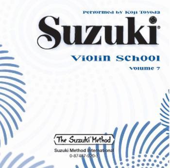 Suzuki Violin School CD, Volume 7 (AL-00-0920)
