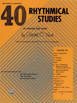 40 Rhythmical Studies (AL-00-EL01319)
