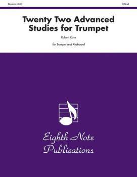 Twenty-Two Advanced Studies for Trumpet (AL-81-ST9915)
