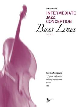 Intermediate Jazz Conception: Bass Lines: Bass Lines Accompanying 15 G (AL-01-ADV14788)