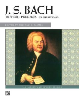 18 Short Preludes (AL-00-601)