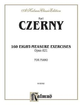 160 8-measure Exercises, Opus 821 (AL-00-K03352)