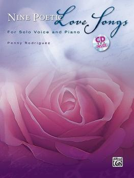 Nine Poetic Love Songs (For Solo Voice and Piano) (AL-00-32920)
