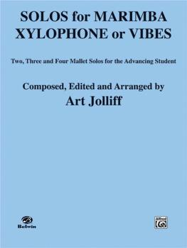 Solos for Marimba, Xylophone or Vibes: Two-, Three-, and Four-Mallet S (AL-00-EL03200)
