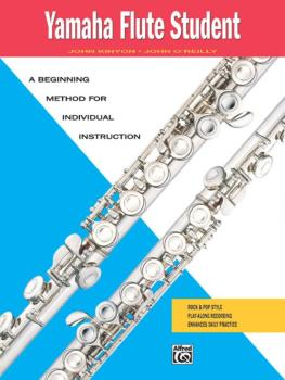 Yamaha Flute Student: A Beginning Method for Individual Instruction (AL-00-5905)