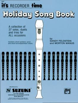 Recorder Holiday Songbook (Suzuki Corp. Edition) (AL-00-89)
