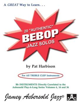 "20 ""Authentic"" Bebop Solos (For All Treble Clef Instruments) (AL-24-AUT)"
