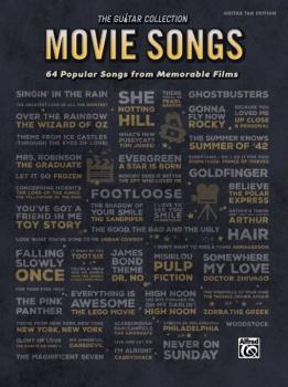 The Guitar Collection: Movie Songs: 64 Popular Songs from Memorable Fi (AL-00-45059)