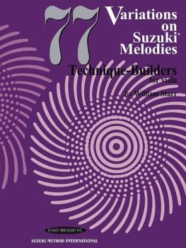 77 Variations on Suzuki Melodies: Technique Builders (AL-00-0795)