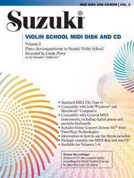 Suzuki Violin School MIDI Disk Acc./CD-ROM, Volume 2 (AL-00-30101)