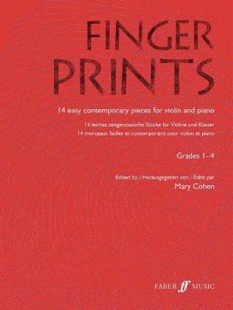 Fingerprints for Violin and Piano, Grade 1-4 (AL-12-0571522580)