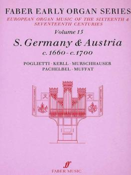 Faber Early Organ Series, Volume 15 (Germany 1660-1700) (AL-12-0571507859)