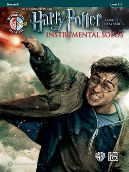 <i>Harry Potter</i>™ Instrumental Solos: Selections from the Complete  (AL-00-39226)