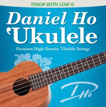 Daniel Ho 'Ukulele Premium High-Density Ukulele Strings (Tenor with Lo (AL-98-DHC80109BX)