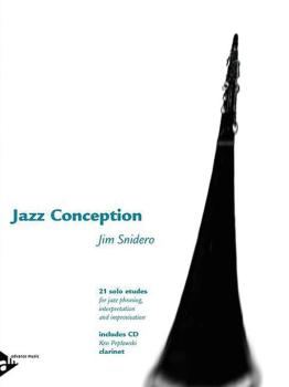 Jazz Conception: Clarinet: 21 Solo Etudes for Jazz Phrasing, Interpret (AL-01-ADV14725)
