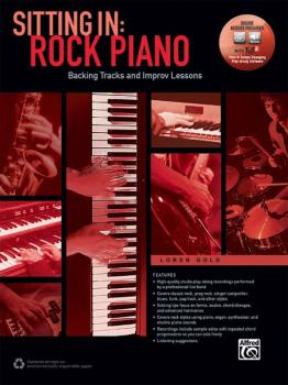 Sitting In: Rock Piano: Backing Tracks and Improv Lessons (AL-00-42819)