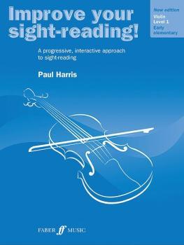 Improve Your Sight-Reading! Violin, Level 1 (New Edition): A Progressi (AL-12-0571536611)