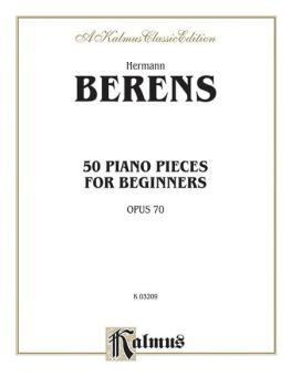 50 Piano Pieces for Beginners, Opus 70 (AL-00-K03209)