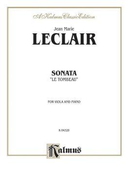 """Sonata """"Le Tombeau"""" (AL-00-K04329)"""