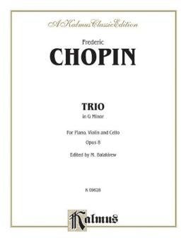 Piano Trio in G Minor, Opus 8 (AL-00-K09628)
