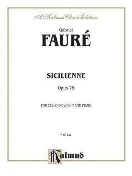Sicilienne, Opus 78 (AL-00-K04431)