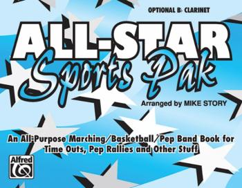 All-Star Sports Pak: An All-Purpose Marching/Basketball/Pep Band Book  (AL-00-MBF9504)