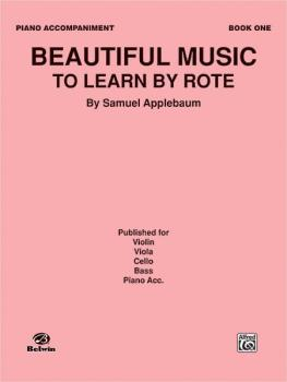 Beautiful Music to Learn by Rote, Book I (AL-00-EL02723)