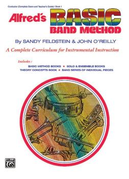 Alfred's Basic Band Method, Book 1: A Complete Curriculum for Instrume (AL-00-1627)