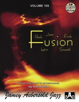 Jamey Aebersold Jazz, Volume 109: Fusion: Rock, Jazz, Funk, Latin, Smo (AL-24-V109DS)