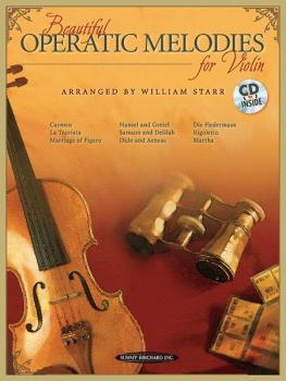 Beautiful Operatic Melodies for Violin (AL-00-35251)