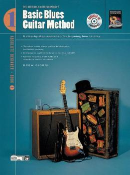 Basic Blues Guitar Method, Book 1: A Step-by-Step Approach for Learnin (AL-00-19437)