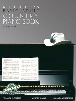 Alfred's Basic Adult Piano Course: Country Songbook, Book 1 (AL-00-2506)