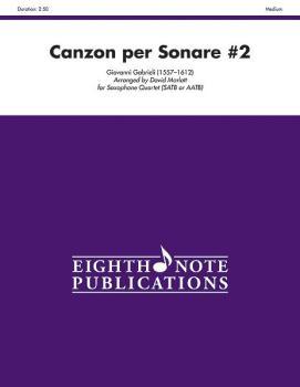 Canzon per Sonare #2 (AL-81-SQ1158)