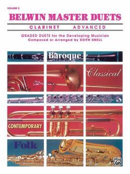 Belwin Master Duets (Clarinet), Advanced Volume 2 (AL-00-EL03644)