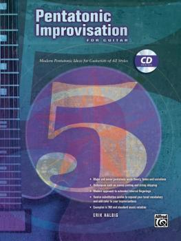Pentatonic Improvisation: Modern Pentatonic Ideas for Guitarists of Al (AL-00-23208)