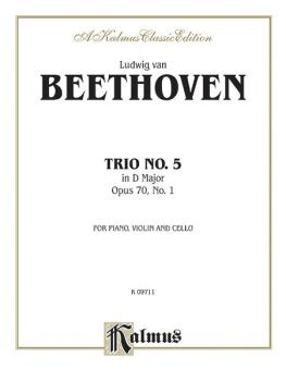 Piano Trio No. 5, Opus 70 No. 1 in D Major (AL-00-K09711)