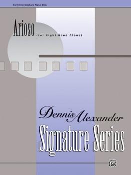 Arioso (for right hand alone) (AL-00-14291)
