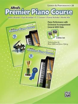 Premier Piano Course, GM Disk 2B for Lesson and Performance (AL-00-23263)