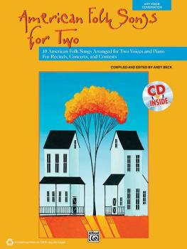 American Folk Songs for Two: 10 American Folk Songs Arranged for Two V (AL-00-38108)