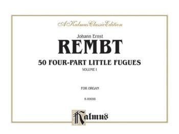 50 Four-Part Little Fugues, Volume I (AL-00-K09098)
