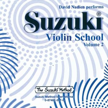 Suzuki Violin School CD, Volume 2 (AL-00-0347)