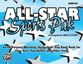 All-Star Sports Pak: An All-Purpose Marching/Basketball/Pep Band Book  (AL-00-MBF9524)